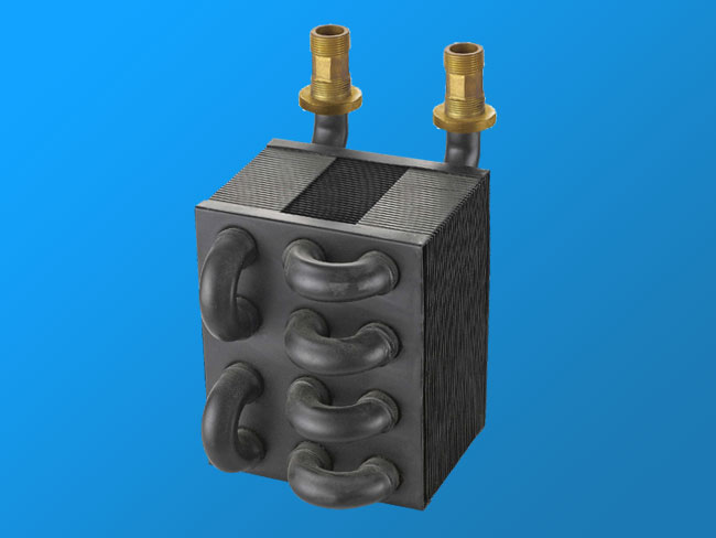 LN-1 anaerobic copper heat exchanger